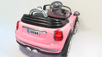 Pink mini car with remote control buy battery operated electric
